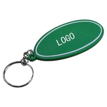 Soft PVC Key Tag Keychain