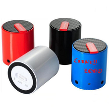 Customized Small Cylindrical Wireless Speakers
