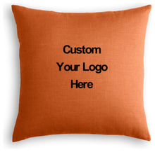 Custom Linen Throw Pillow