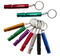 Imprinted Aluminum Tube Whistle Key Chain