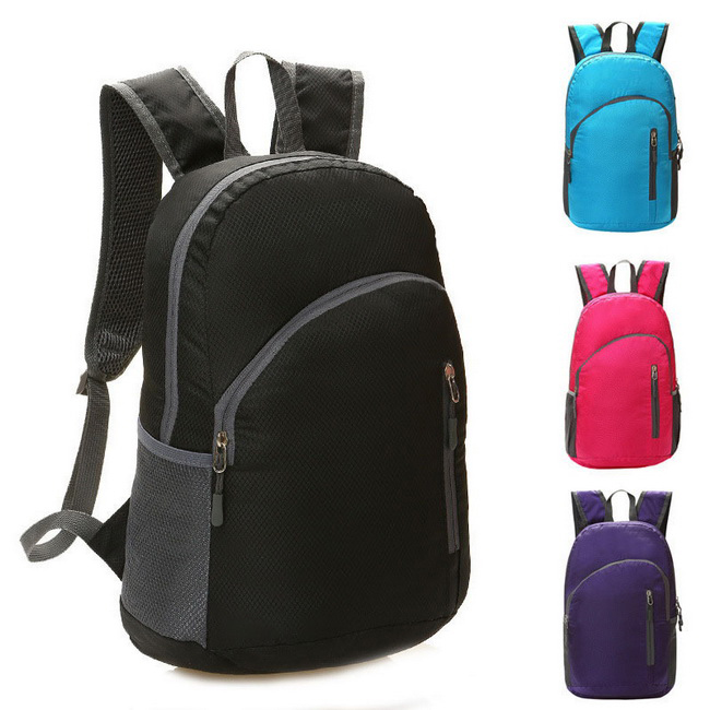 Folding Waterproof Double Shoulder Backpack