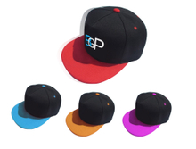 3D Embroidery Logo Baseball Cap With Flat Visor