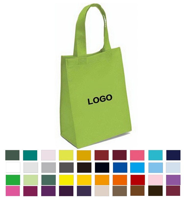 Promotional Custom Logo Economy Grocery Tote Shopping Bag