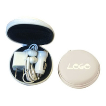 USB Headphone Charger Travel Kit