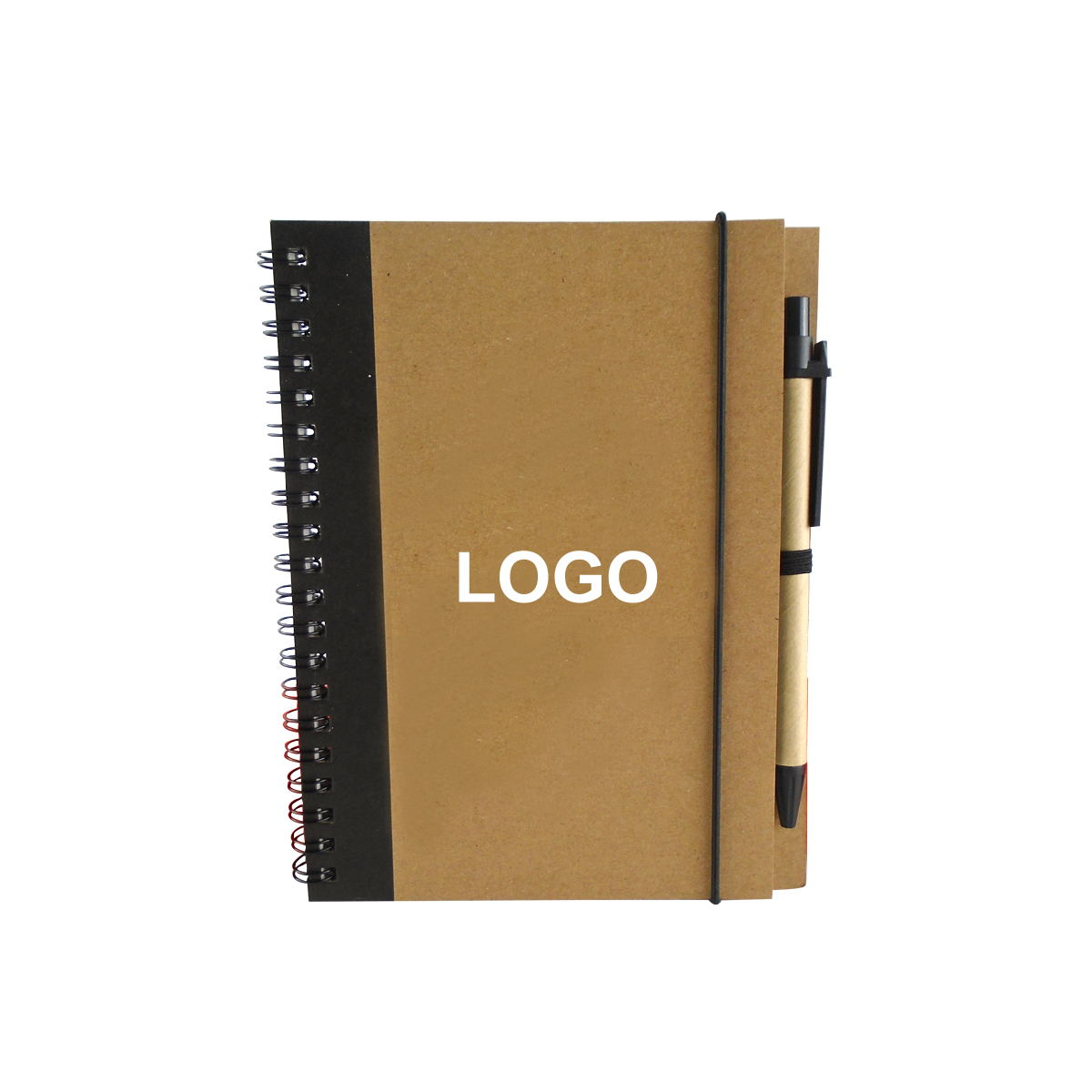 Classic Hardcover Promotional Notebook With Pen