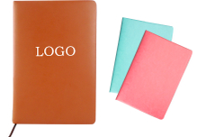 Custom Promotional A5 PU Leather Cover Notebook