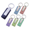 Print Popular Leather And Metal Key Tag Keychain