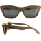 Print Bamboo Sunglasses With Polarized Lenses