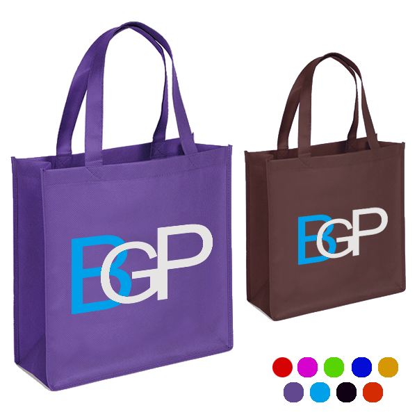 Promotional Custom Logo Printed Non-woven Shopping Tote Bag