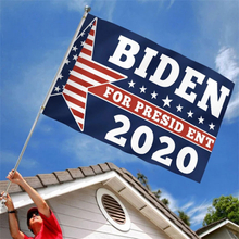 2020 American Election Biden Hand Waving Flag