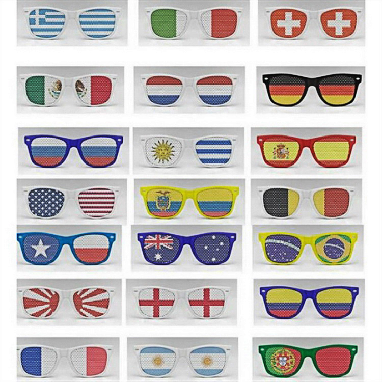 Full Color Sticker Pinhole Sunglasses