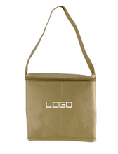 Kraft Paper Cooler Lunch Tote Bag