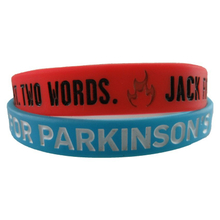 Imprinted Embossed Color Printed Wristbands