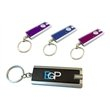 Promotional LED Flashlight Keyring Key Holder