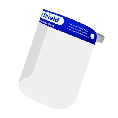 Clear Antibacterial Disposable Protective Face Shield