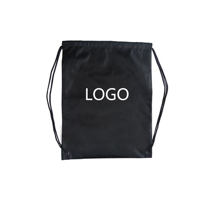 14 x 17 Inch Recycled Polyester Drawstring Backpack Bags