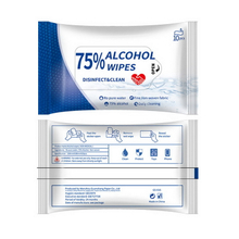 10pcs 75% Alcohol Disinfection Wipes
